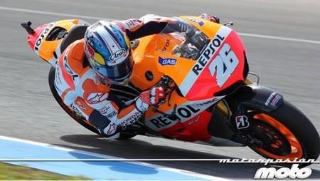 Dani Pedrosa en Jerez