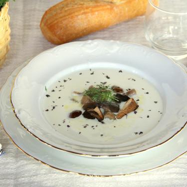 Sopa de Idiazábal, el mejor entrante navideño para los amantes del queso