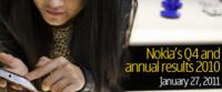 Nokia ha perdido un 9% de la cuota de mercado de smartphones en 2010