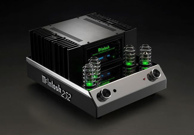 Retro en diseño y con sorprendente aspecto, así es el nuevo amplificador a válvulas de  McIntosch