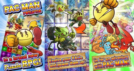 Pac-Man Monsters, un puzle RPG para Android