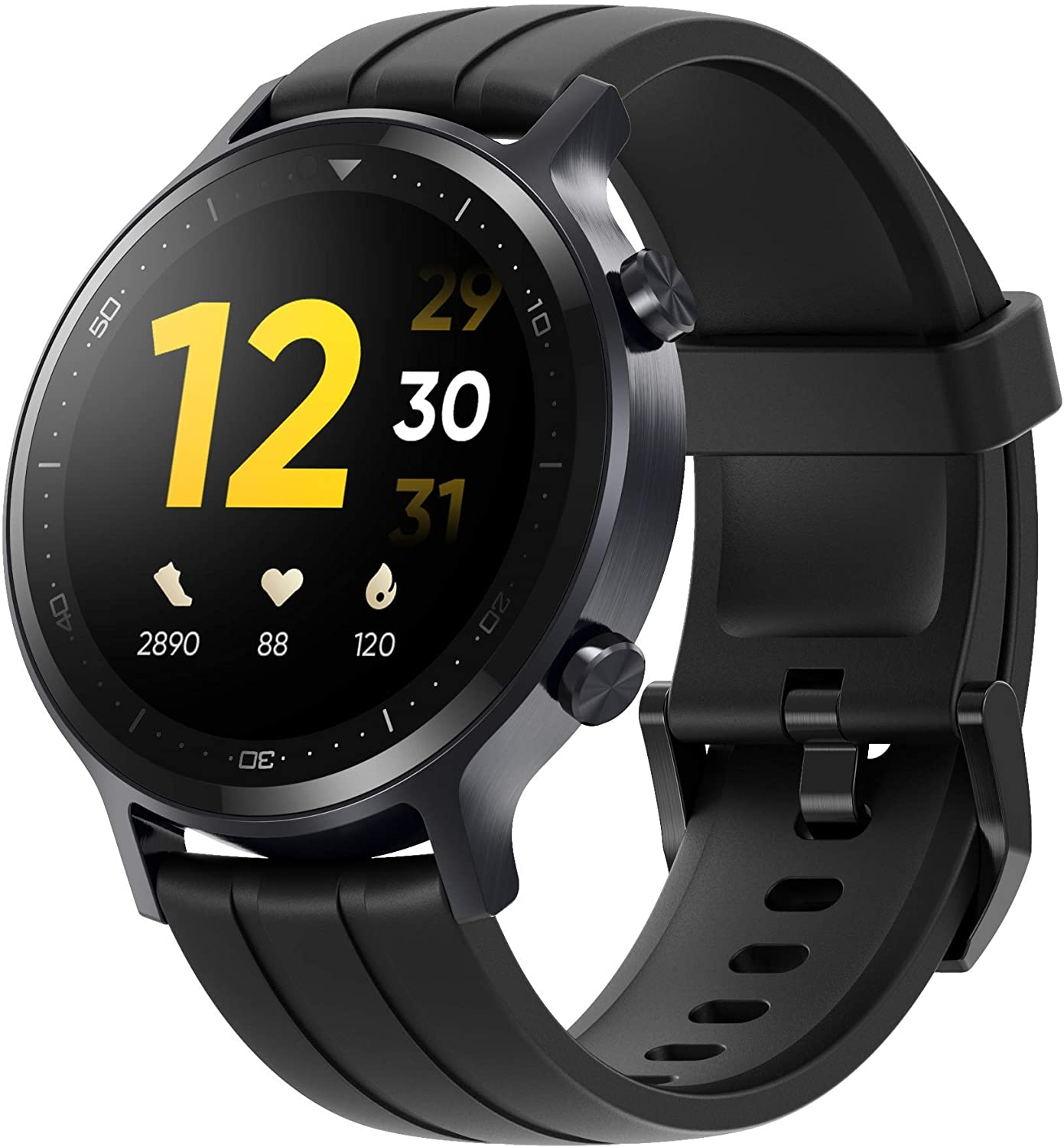 "realme Watch S - 1.3"", TFT-LCD, Android y Bluetooth 5.0, resistencia IP68 - Negro"