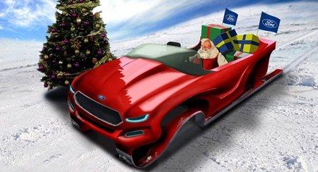 Ford presenta la evolución de trineo de Papá Noel