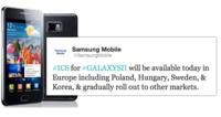 La actualización del Samsung Galaxy S2 a Ice Cream Sandwich comienza hoy