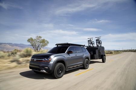 Volkswagen Atlas Basecamp Concept, el SUV full size se pone muy aventurero