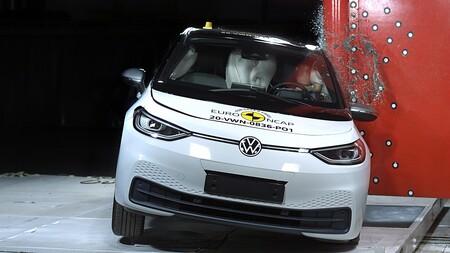 Euro NCAP vuelve a la carga estrellando el Volkswagen ID.3: el primer eléctrico de la familia ID logra las cinco estrellas