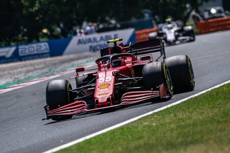 Sainz Hungria F1 2021