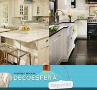Las encimeras de la cocina ¿oscuras o claras? La pregunta de la semana