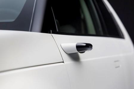 Honda e sin espejos retrovisores