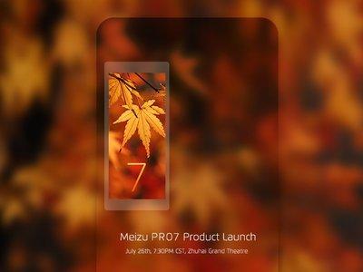 Meizu confirma la pantalla trasera del Pro 7, una curiosa herramienta para selfies