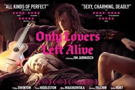 'Sólo los amantes sobreviven', vampiros y rock & roll