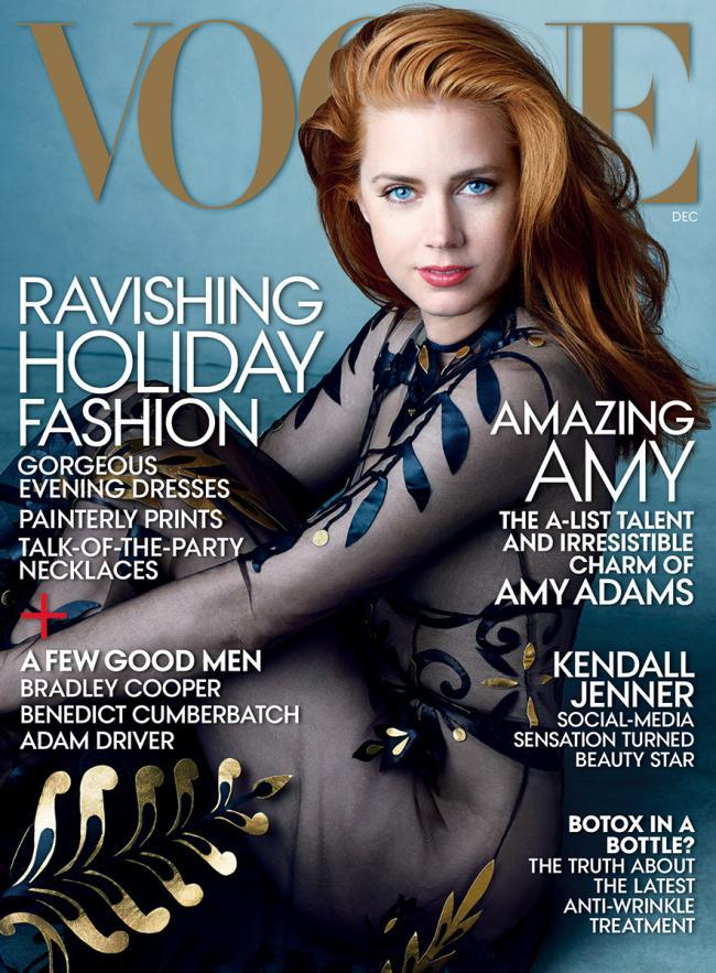 Us Vogue December 2014 Amy Adams By Annie Leibovitz