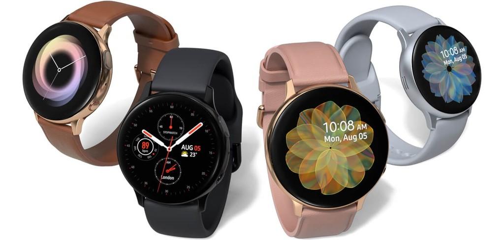 Samsung Galaxy Watch Active2: lunette tactile, un électrocardiogramme et un détecteur de chute pour la nouvelle smartwatch de Samsung