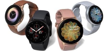 Samsung Galaxy Watch Active2: bisel táctil, electrocardiograma y detector de caídas para el nuevo smartwatch de Samsung