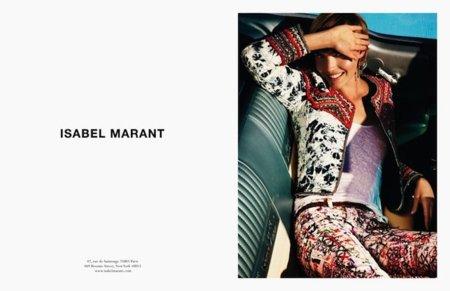 Isabel Marant campaña Primavera-Verano 2012: viviendo el sueño americano