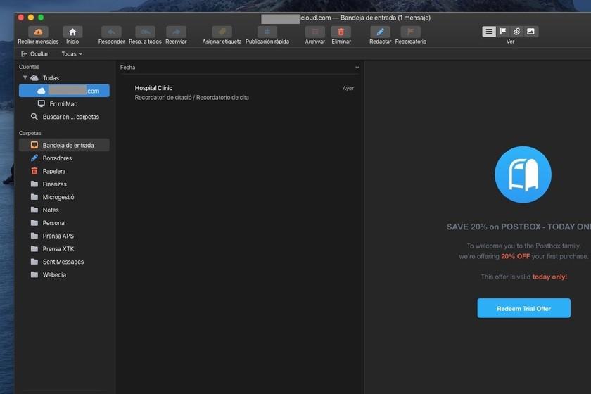 Postbox 7, el retorno de un cliente de correo para quien necesite ir más allá de lo básico: App de la Semana