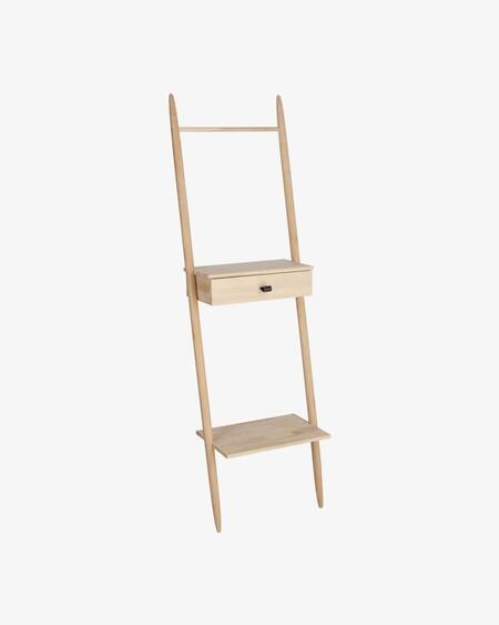 E9dd27727c33ffd630b8264991fc12e6Estantería Jovita madera maciza abedul 50 x 167 cm