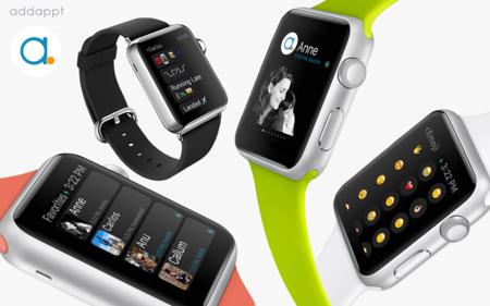 Addappt se suma a la lista de aplicaciones para el Apple Watch