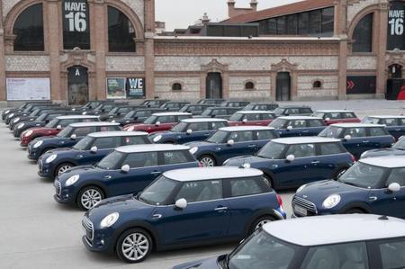 En Madrid el nuevo MINI está por todas partes