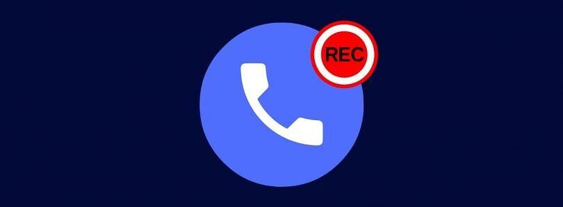 Teléfono de Google™ se prepara para grabar automática llamadas de desconocidos, según el código de la app