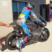 """Álex Márquez ya ha probado la Kalex con motor Triumph de Moto2 2019: """"Está más cerca de MotoGP"""""""
