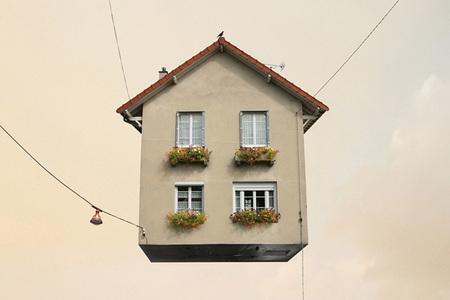 Casas voladoras por Laurent Chehere