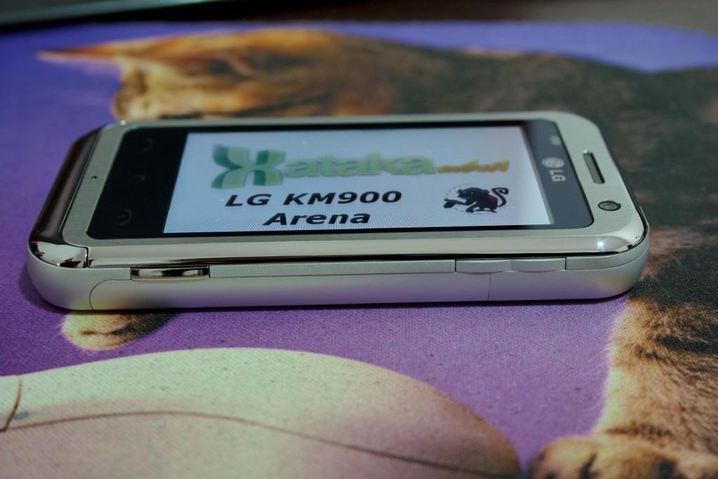 Foto de LG KM900 arena, análisis (25/25)
