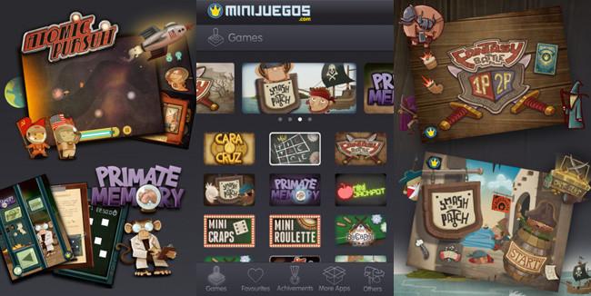Minijuegos gratuitos para el iPhone - minijuegos