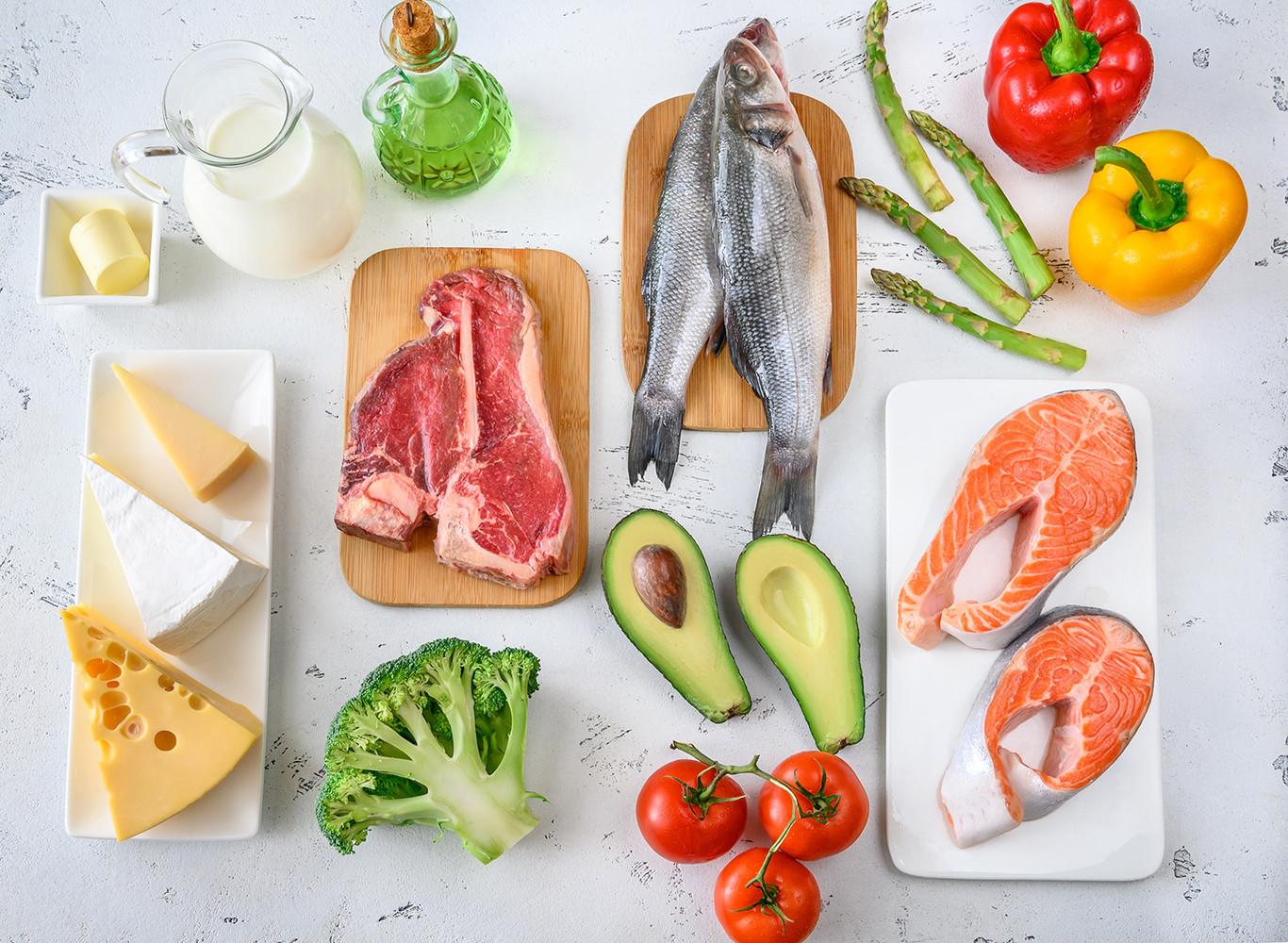 como estar en la dieta cetosis sin verduras