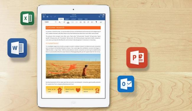 Y el último en integrarse con iCloud Drive es... Microsoft Office para iOS