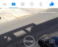 Facebook Messenger se actualiza con envío de vídeos de 15 segundos, no se autodestruyen