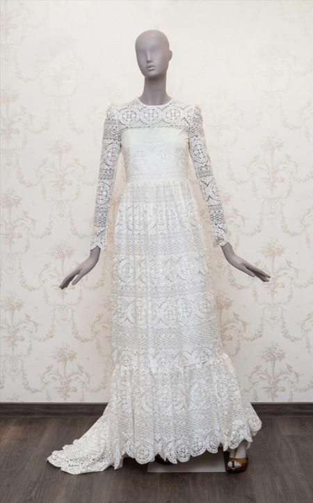 los vestidos de novia de alicia rueda: estilo vintage para novias