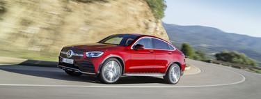Mercedes-Benz GLC Coupé 2019: cambios pequeños por fuera, sistema mild hybrid y más tecnología por dentro