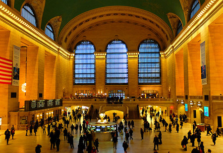 Grand Central Terminal En Nueva York Interior