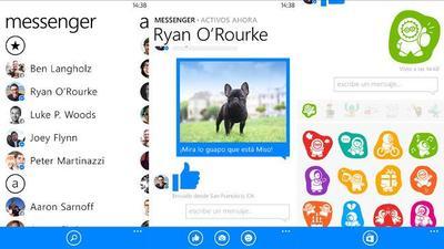 Nueva actualización de Facebook Messenger para Windows Phone, con mensajes de voz y emoticonos