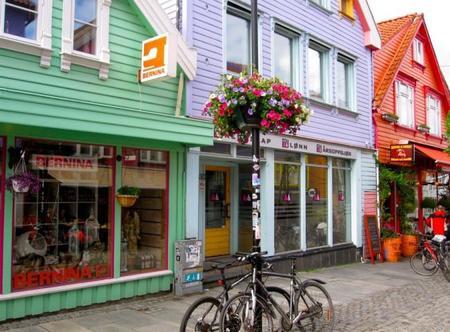 Casas de madera Øvre Holmegate Stavanger