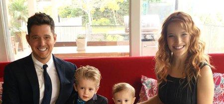 Buenas noticias para la familia Bublé: confirman que su hijo de tres años habría superado el cáncer