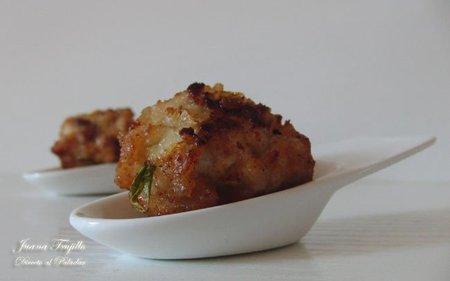 Albóndigas de pavo con miel y romero. Receta
