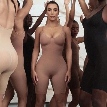 Kim Kardashian amplía el negocio lanzando su propia colección de ropa interior reductora
