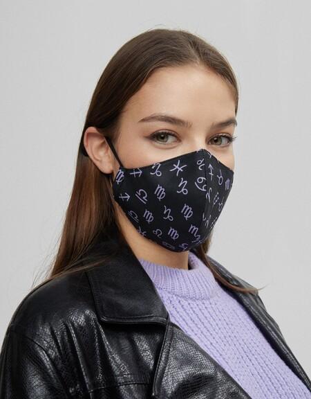 Bershka Cobertor Facial Rebajas 2021 05