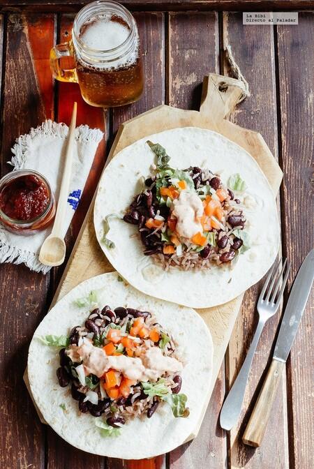Platillos Vegetarianos Recetas Faciles Para Celebrar El Dia Del Vegetariano Burrito