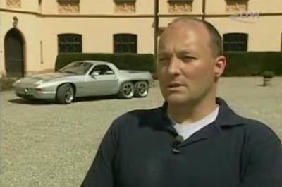 Porsche 928 GTS de 6 ruedas y pick-up, esto debería ser ilegal