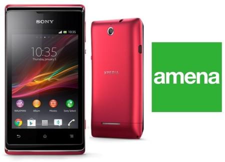 Sony Xperia E con Amena y comparativa con el resto de operadores