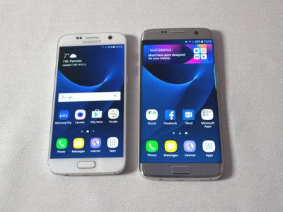 Los Samsung Galaxy S7 vienen con ocho gigas ya ocupados por el sistema y su TouchWiz