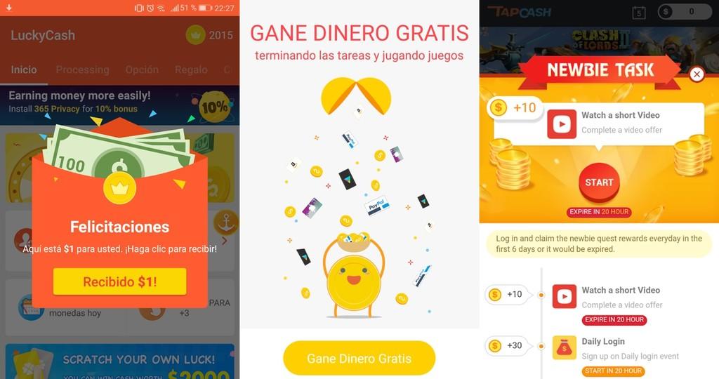 Aplicaciones Android™ Ganar Dinero