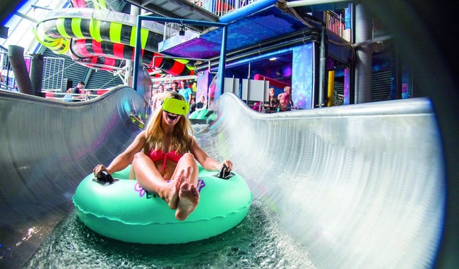 VRSlide, el primer tobogán acuático del mundo con realidad virtual y aumentada ya está aquí