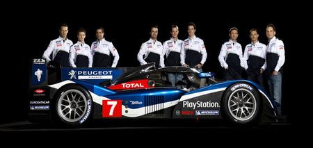 24 horas de Le Mans 2012: los pilotos de Peugeot encuentran hueco