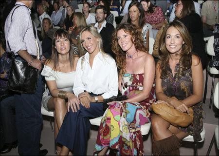 Los famosos españoles en el Front Row de Pasarela Cibeles