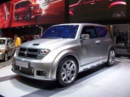 Dodge Hornet Concept, fotos de su presentación en Ginebra