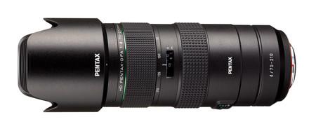 HD Pentax-D FA 70-210mm F4ED SDM WR, el nuevo teleobjetivo zoom ligero y compacto de Pentax.